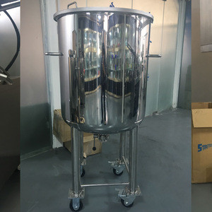 Cosmetic Chemical Stainless Steel Storage Tank Vessel