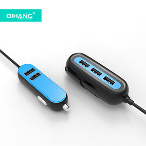 Custom Multi Usb 2.4A 4.8A Fast Charging Car Charger