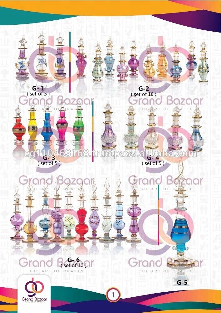 Elegant wedding glass crystal bottle handmade glass classic Handmade Glass Craft