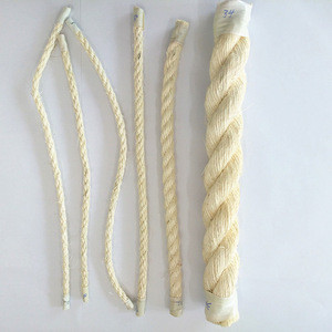 Factory wholesale packaging handcraft cord white thick sisal rope