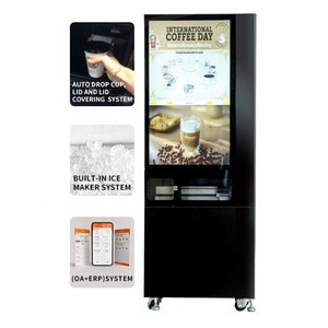 Freshly Ground Coffee Vending Machine