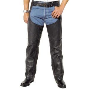 Leather chaps horse riding plus size For biker garments