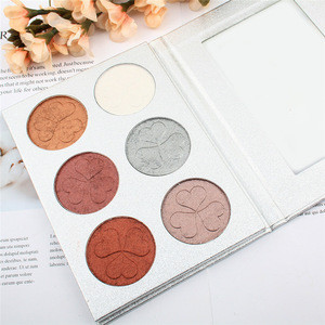 Mineral Pressed compact wet  Powder Contour palette face base no brand makeup powder
