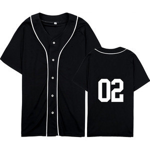 New Best Top quality custom logo baseball jersey good product Made by Antom Enterprises
