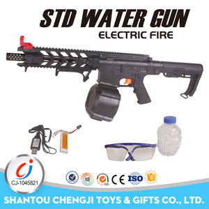 Newest handheld electric toy bullets water gun for adult