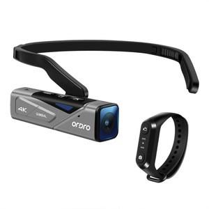 ORDRO New EP7 POV Wholesale Fishing Hiking Mini Digital 4K UHD Gimbal Video Camera