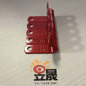 Plastic coated copper cable clip for MICC cable