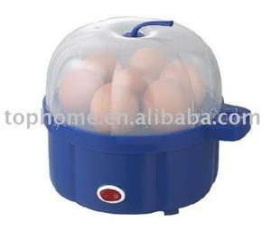 Plastic egg cooker
