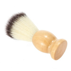 Professional Barbers Shaving Brush Clean Beard On Neck and Face Hairdressing Tools Accessories