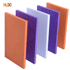 Recording studio equipment polyester fiber acoustic ceiling absorption panels