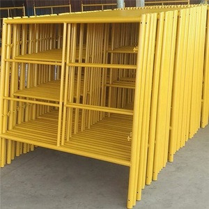 Scaffolding with Galvanized Cross Brace scaffold ladder frame Frame Scaffold