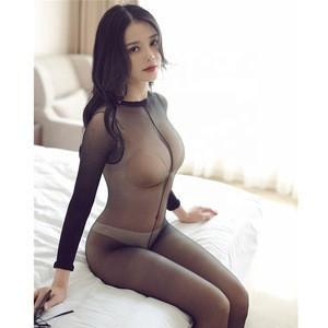 Sexy Fishnet Women Body Black stockings Mesh  Lingerie