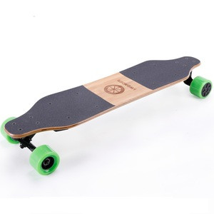 SK-E2D I-Wonder Led light custom electric skateboard dual hub motors in-wheel electric longboard boosted board