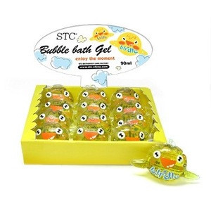 Soft pvc bag-bubble bath skin whitening liquid shower gel