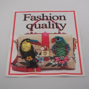 Soft PVC/TPU patch 3d lenticular patch for garment label