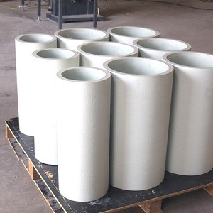 Special Shaped Product Customized Casting Aluminum Silicate Ceramic Fiber Refractory Lined Pipe