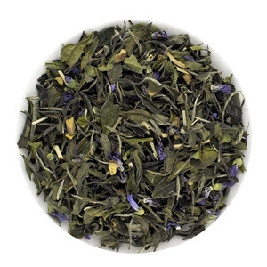 Tea drink mix chinese white tea with refreshing lemongrass and aromatic jasmine blossoms.