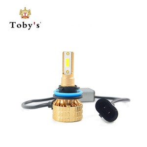 Toby's Original Design T22 30W DOB Newest Headlight Kit Auto LED with Fan H11 Car Lights