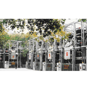 Vertical circulation mechanical parking equipment!