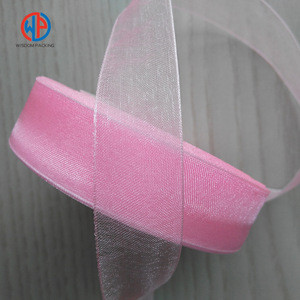 Wholesale high quality silk gift ,organza ribbon