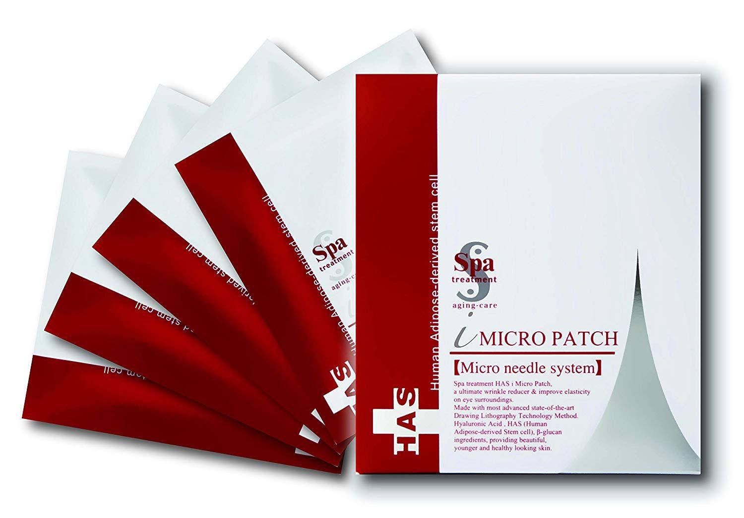 HAS Micro Patch, 2 patches x 4 - SPA Treatment