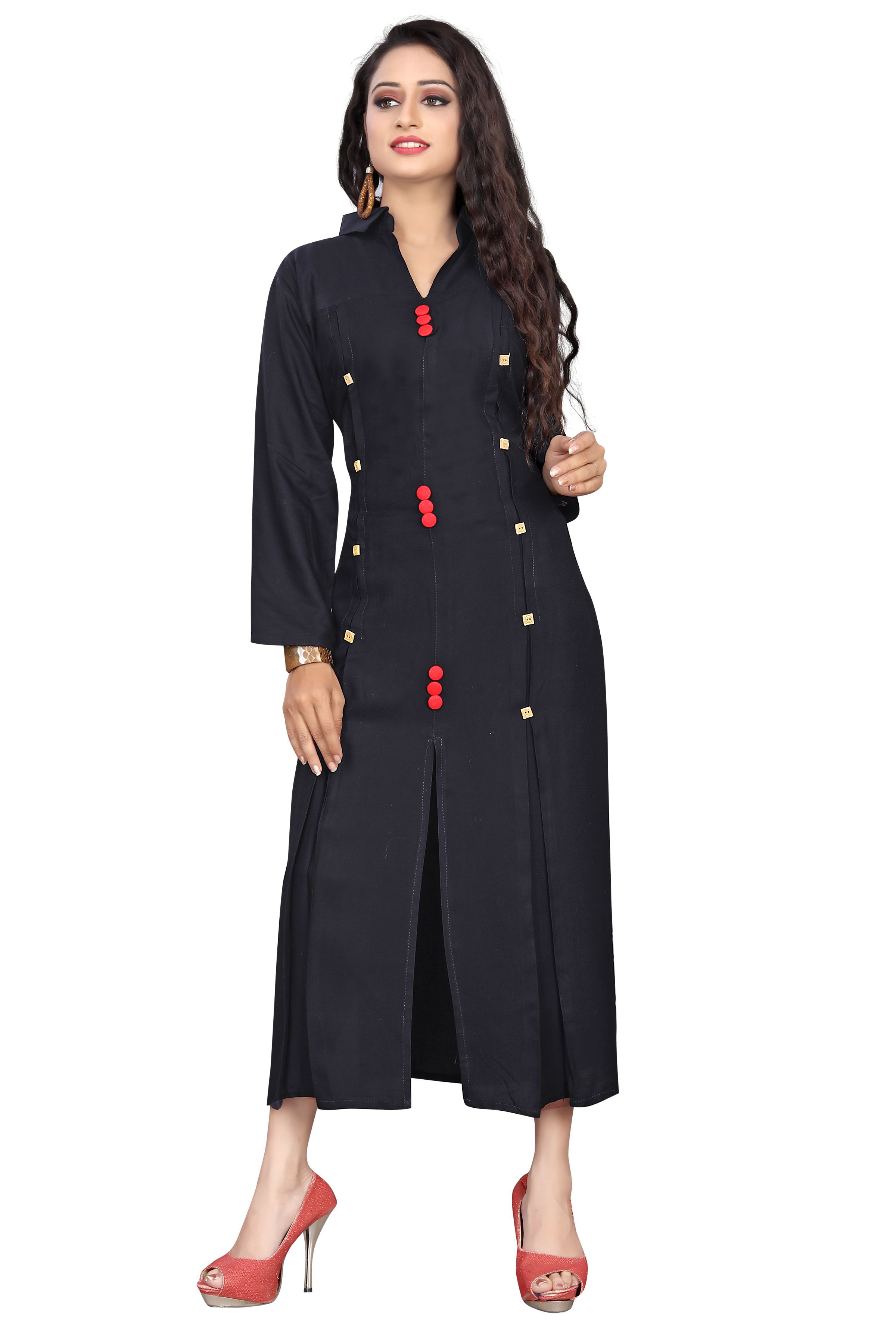 Woman Reyon14kg Fancy Kurti