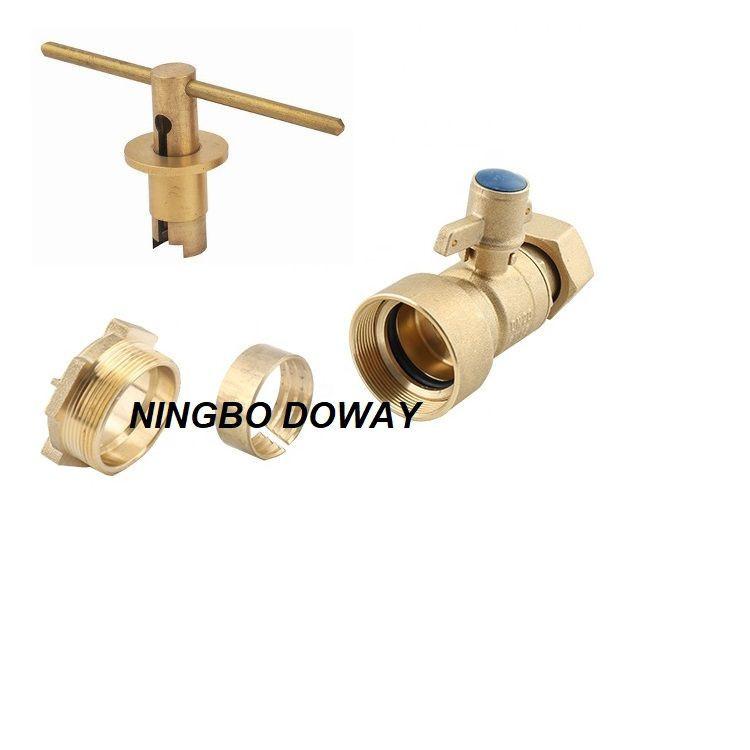 China Factory Custom water meter  Lockable Ball Valve