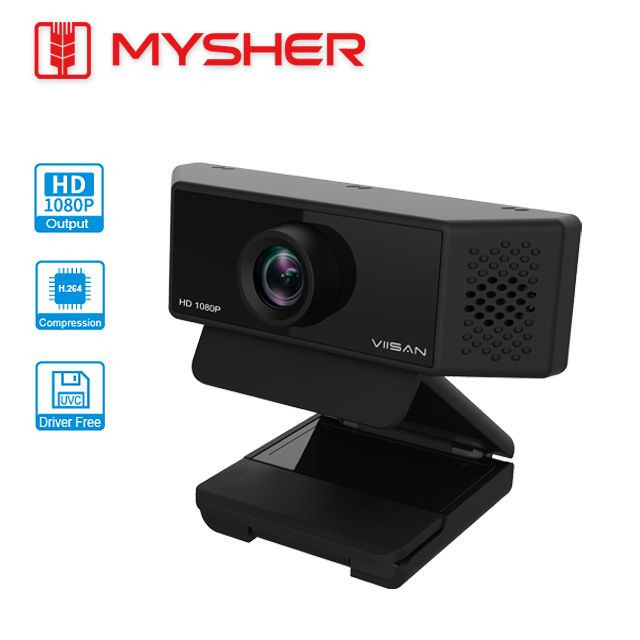 Full HD 1080P@30fps, WebCam with H.264 video compression