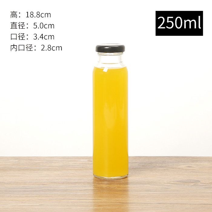 Customized Long Neck Glass Bottle