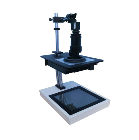 Semi Automatic Polarimeter Stress Magnifier Polariscope  Stress Meter for Glass and Plastic products