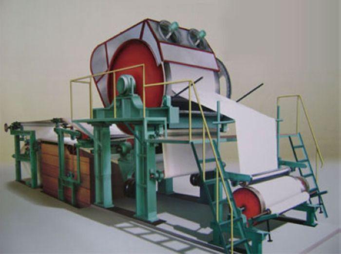 Paper napkins manufacturer machine set