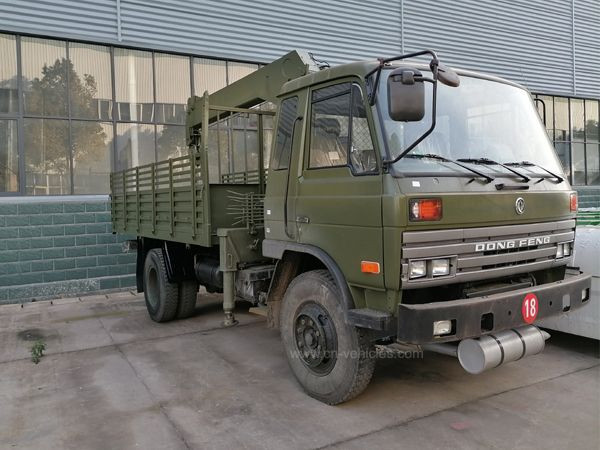 Chengli Factory Export Dongfeng DFAC Truck Mountd 4 Ton Straight Crane for Army with Lorry