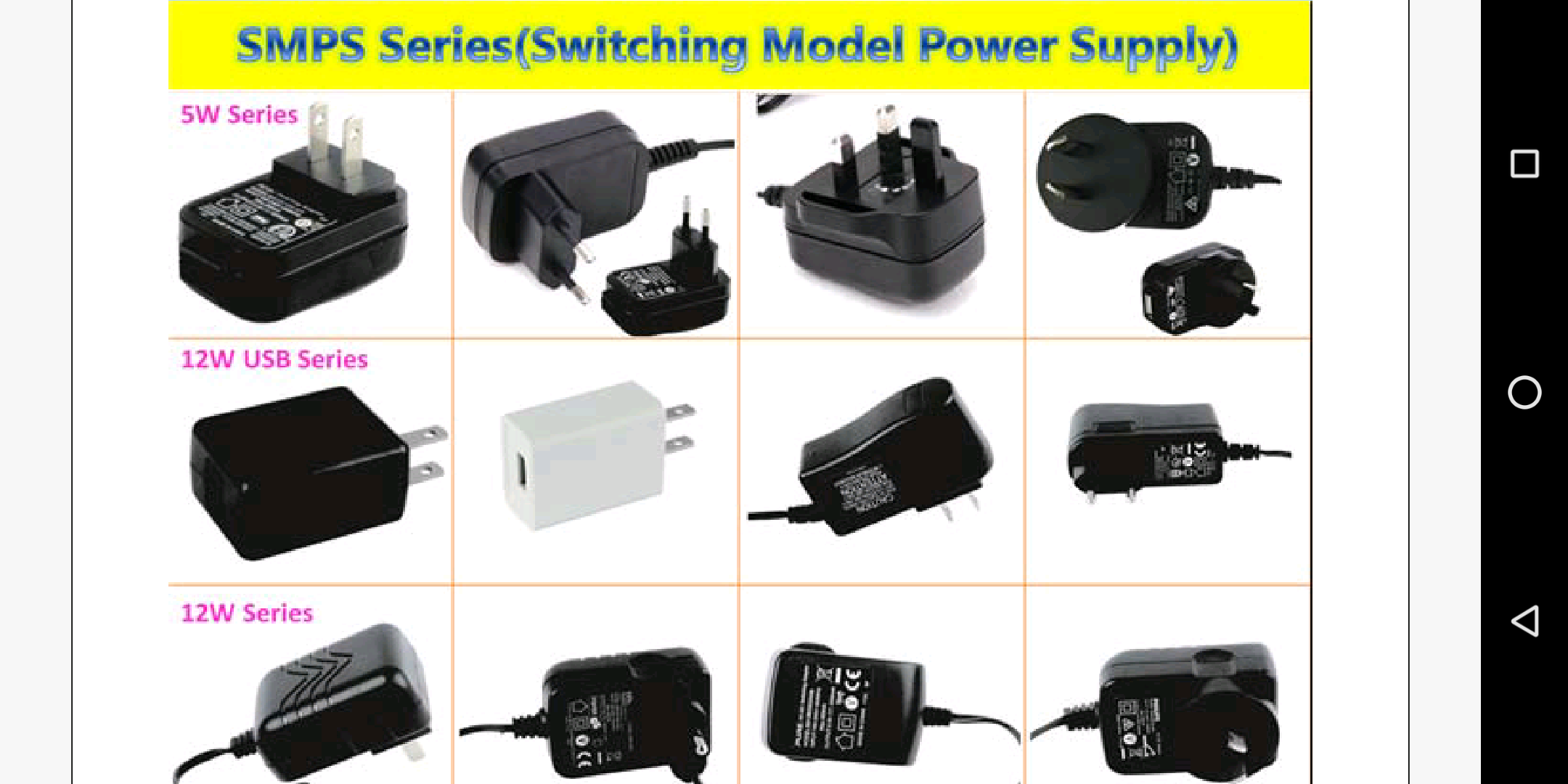 Switching Power Supply, LED Driver / LED Intelligent Driver, Dimming, Sensors/ Transformer