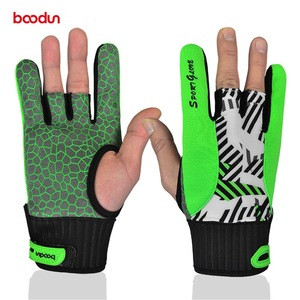 2019 best selling professional silicon slip poof bowling gloves for indoor sports