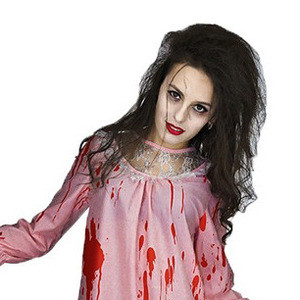 Adult Zombie Blood Dress Party Costume Carnival Cosplay Dress Halloween Bloody Women Ghost Costume/