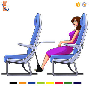 Airplane Footrest Made with Premium Memory Foam - Airplane Travel Accessories - Tested and Proven to Prevent Swelling and Sorene