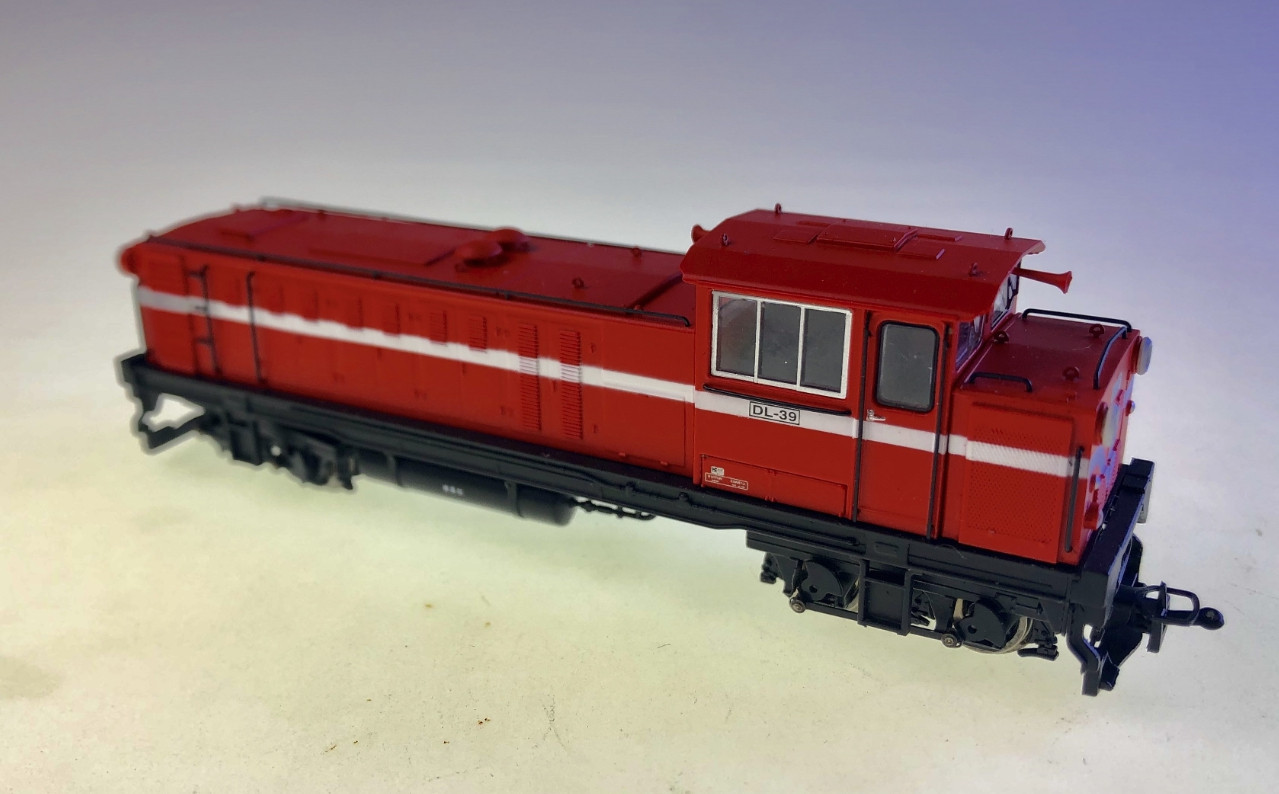 ANE MODEL DL-39 Taiwan Ali-Shan Forest Railway Sixth Generation Diesel Locomotive