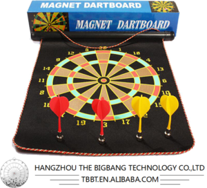 BIGBANG SPORTS Authentic professional 18-inch darts plate suit Double-sided flocking to thicken the darts board