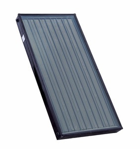 Black Painted Solar Thermal Collector