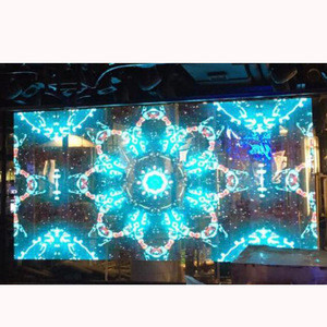 China Wholesaler Indoor P10.66 Transparent Led Display Board From Lights