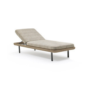 Contemporary style  leisure garden outdoor furniture rattan daybed sun lounge