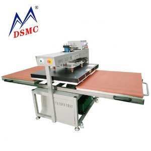 Duplex pneumatic t-shirt heat press machine sliding Heat transfer press printing for textile