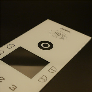 EU standard glass panel touch switch on wall