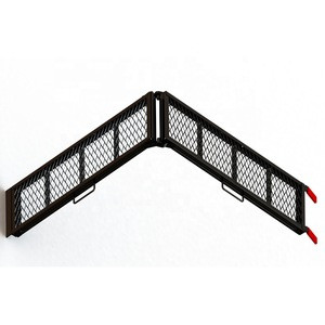 Foldable steel ramp bike ramp
