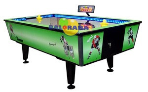 Green air hockey, air hocker for sale, cheap air hockey