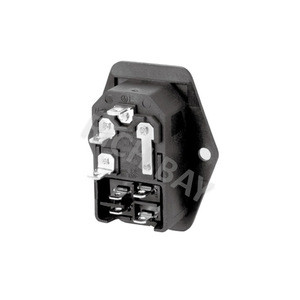 IEC Socket Connector Electrical plugs Fuse Components