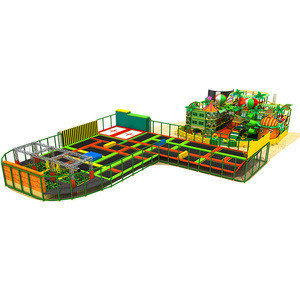 Kids big skyzone trampoline with basketball hoop prices for sales