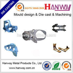 OEM CNC service aluminum die casting motorcycle led headlight housing die cast aluminum for led light housing