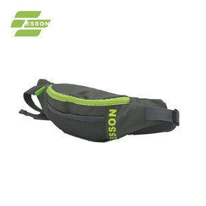 OEM Custom adjustable waterproof colorful belt running sports waist bag