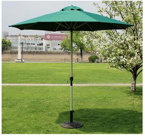 Portable outdoor colorful fashion garden plastic parts with base patio umbrella/